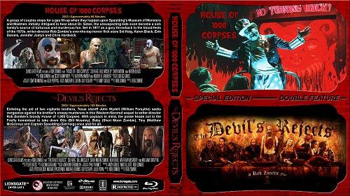 Дом 1000 трупов + Изгнанные дьяволом / House of 1000 Corpses +The Devil's Rejects (2003-2005)