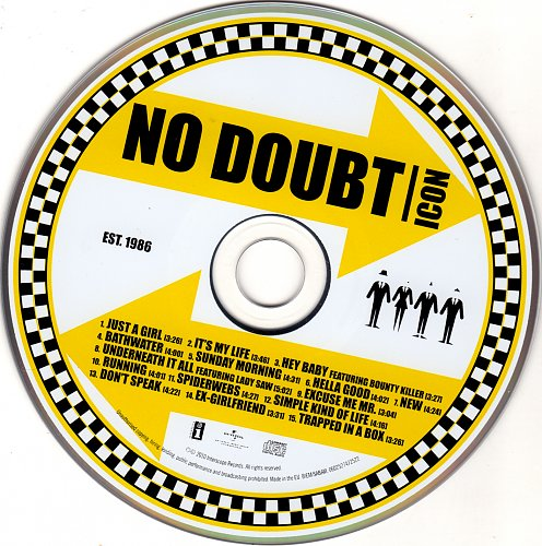 No Doubt - Icon (2010)