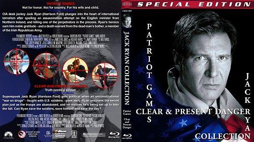 Игры патриотов + Прямая и явная угроза / Patriot Games + Clear and Present Danger (1992-1994)