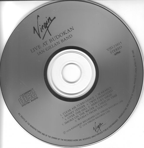 Ian Gillan Band - Live At Budokan (1978)