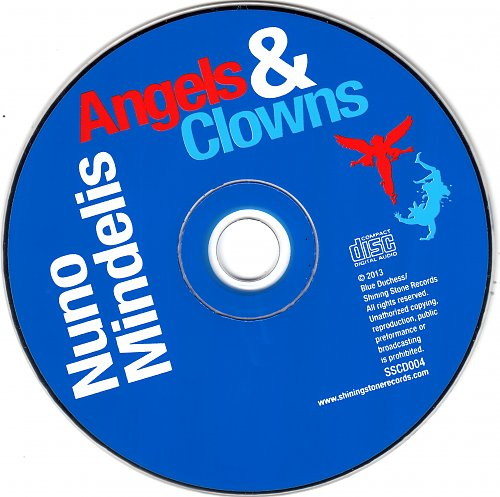 Nuno Mindelis - Angels and Clowns (2013)