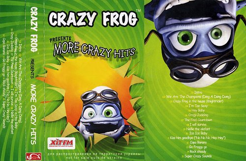 Crazy Frog - Presents More Crazy Hits (2006)