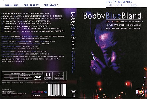Bobby Blue Band - Home Of The Blues Live In Memphis (1997)
