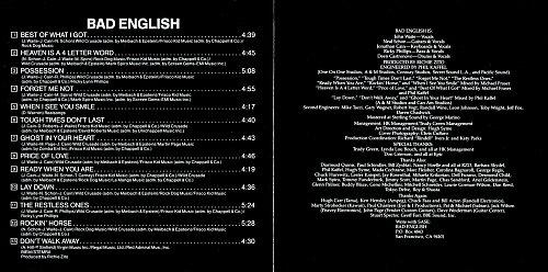 Bad English - Bad English (1989)