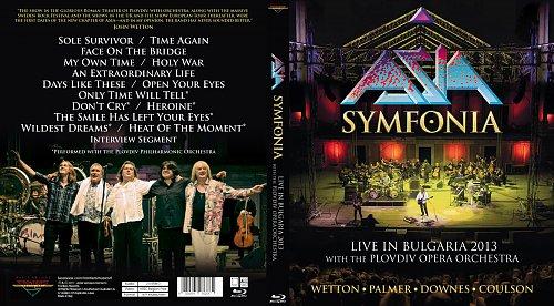 Asia - Symfonia: Live In Bulgaria 2013 (2017)