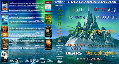 Disneynature - Collector's Edition - 9-movie Set (2016)