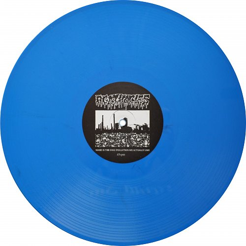 Agathocles/ Sete Star Sept - Split 12'' (2012 Bringer Of Gore, Studio Grand Bleu, Discomat, Belgium)