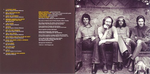Derek And The Dominos - Layla and other Assorted Love Songs (1970)