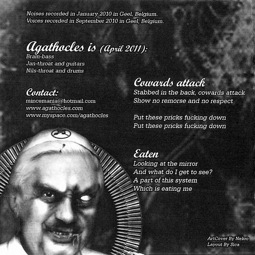 Agathocles (2010) / Sposa In Alto Mare (2011) - Grind Pope (2012 Self-released, EU)