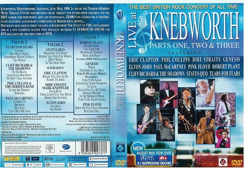 Live At Knebworth (1990)