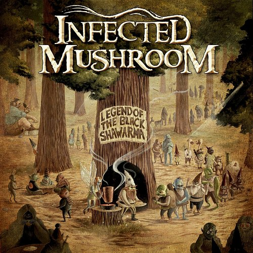 INFECTED MUSHROOM - Legend Of The Black Shawarma (2009)