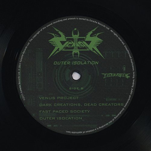 Vektor - Outer Isolation (2011) Released: 2015