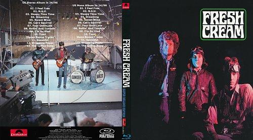 Cream - Fresh Cream - 1966/2017 - Blu-Ray Audio