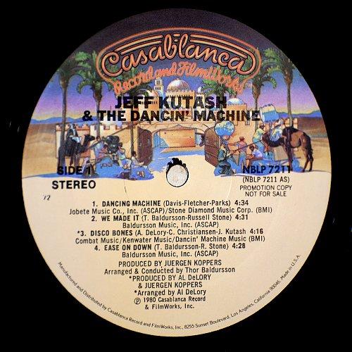 Jeff Kutash & The Dancin' Mashine - Jeff Kutash & The Dancin' Mashine (1980)