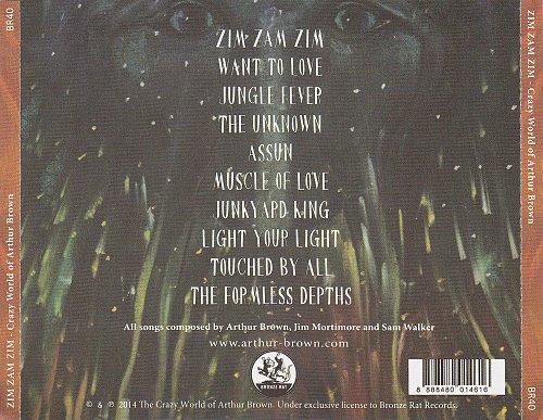 Crazy World Of Arthur Brown - Zim Zam Zim (2014)