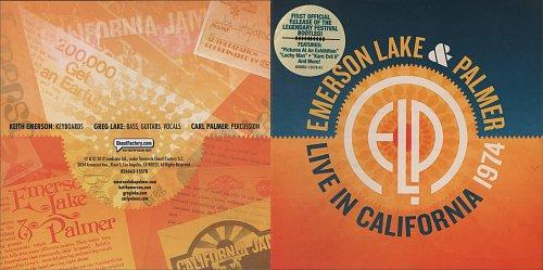 Emerson, Lake & Palmer - Live At California 74 (2012)
