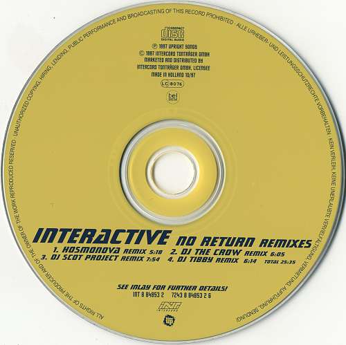 Interactive - No Return (1997)
