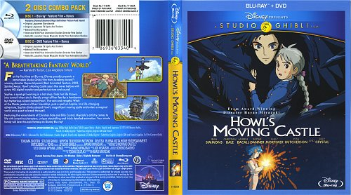 Ходячий замок / Hauru no ugoku shiro / Howl's Moving Castle (2004)
