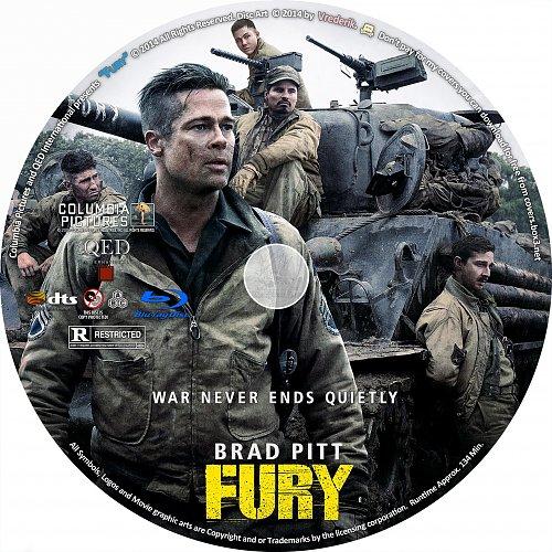 Ярость / Fury (2014)