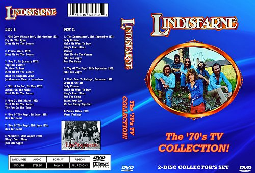 Lindisfarne - The '70's TV Collection (2014)