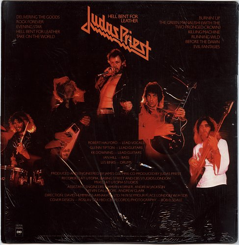 JUDAS PRIEST - Hell Bent For Leather (1978)