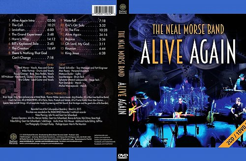 Neal Morse Band - Alive Again (2016)