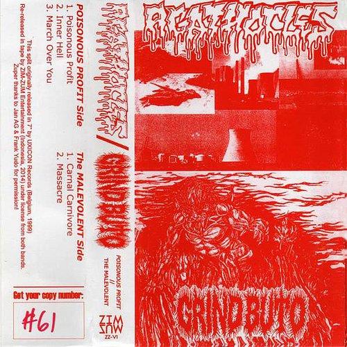 Agathocles / Grind Buto - Poisonous Profit / The Malevolent (2014 Soundshape S., Zim-Zum, Indonesia)
