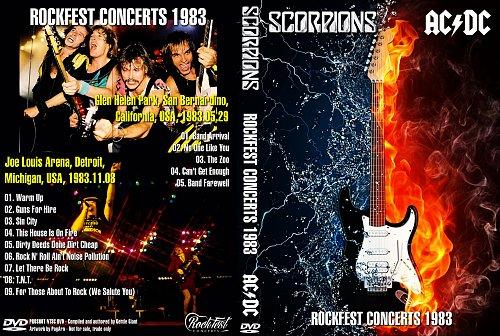 AC/DC & Scorpions ''RockFest Concerts 1983''