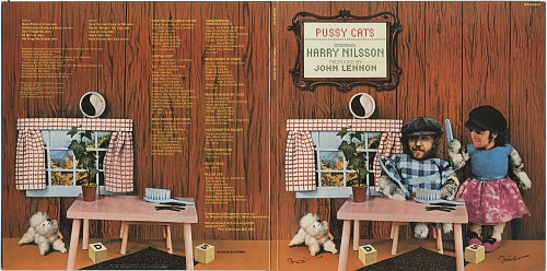 Harry Nilsson with John Lennon - Pussy Cats (1974)
