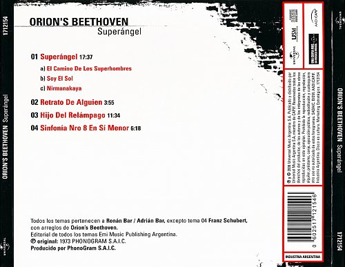 Orion's Beethoven - Superangel (1973)