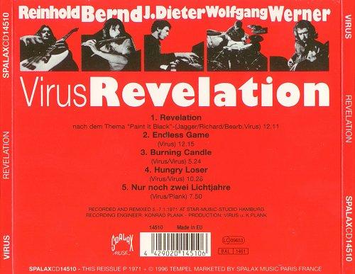 Virus - Revelation (1971)