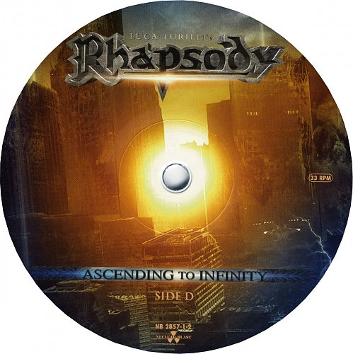Luca Turilli's Rhapsody - Ascending To Infinity (2012) [NB 2857-1]