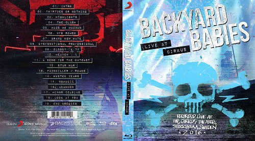 Backyard Babies - Live At Cirkus (2017)