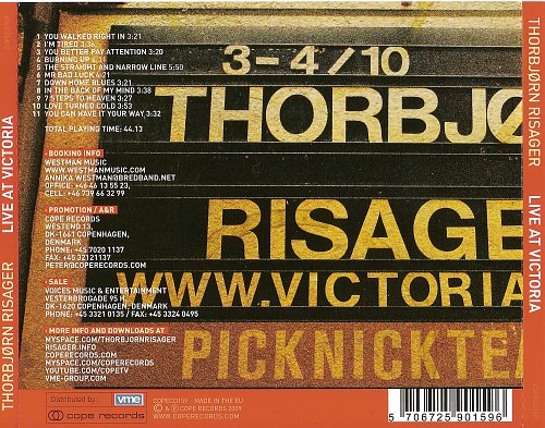 Thorbjorn Risager -  Live At Victoria (2009)