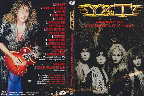 Y&T ''Definitive Kansas City 1987''