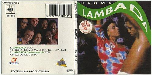 Kaoma - Lambada (1989, CDS)
