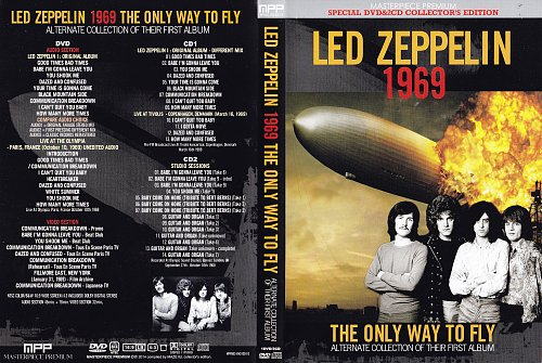 Led Zeppelin - 1969 The Only Way To Fly (2014)