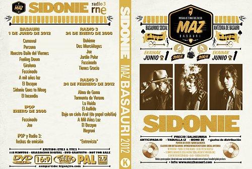 Sidonie - Maz Basauri Live (2012)