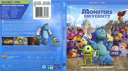 Университет монстров / Monsters University (2013)