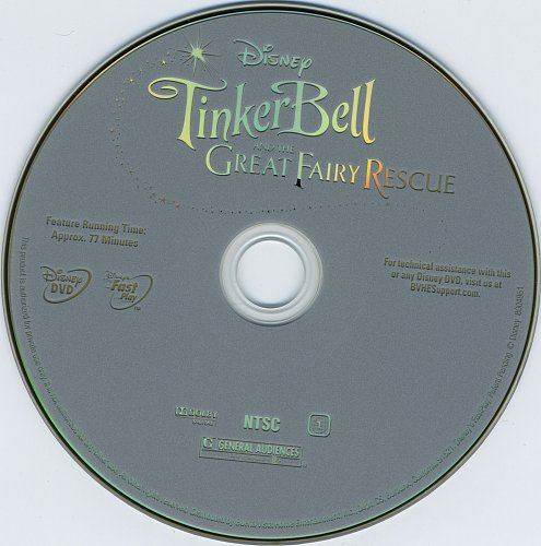 Феи: Волшебное спасение / Tinker Bell and the Great Fairy Rescue (2010)