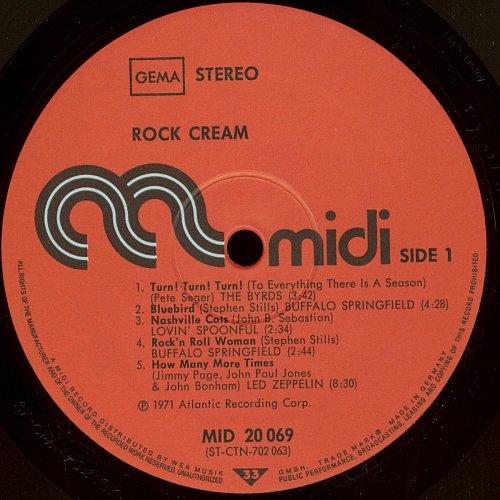 V.A. Rock Cream (1971)
