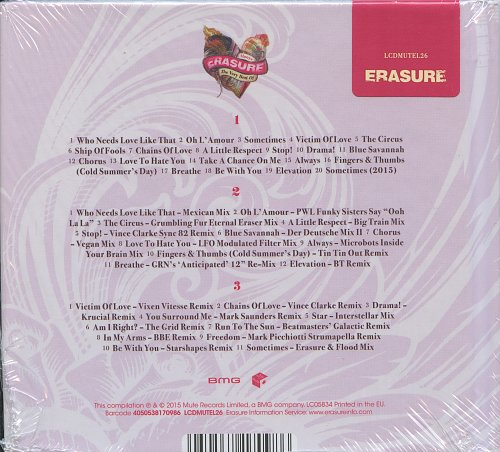ERASURE - «Always» The Very Best Of ...(2015)