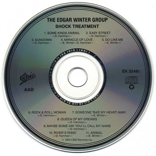 Edgar Winter Group, The - Shock Treatment (1974)