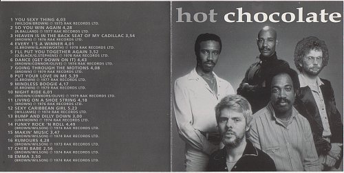 Hot Chocolate - Best Of The 70's (2000)
