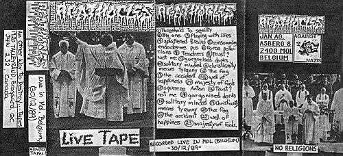 Agathocles - Live In Mol, Belgium 30/12/89 (1989 Another Way To Destroy... Tapes, Canada)