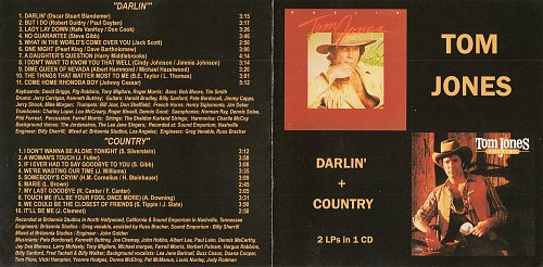 Tom Jones - Darlin' + Country (1981, 1982)