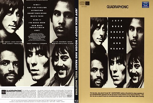 Jeff Beck Group - Rough and Ready Blu Ray Audio