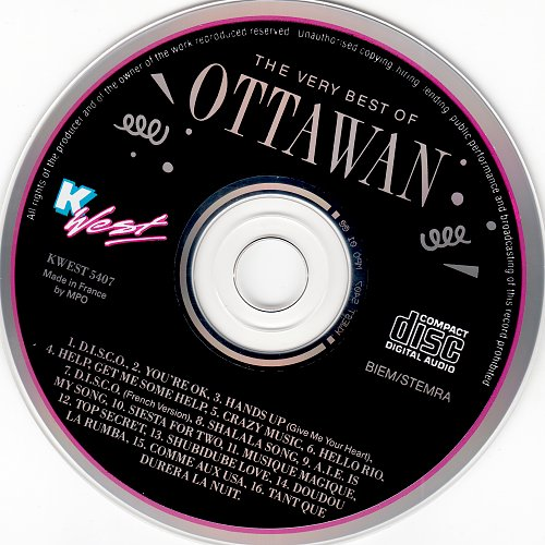 Ottawan - The Very Best Of Ottawan (1992)