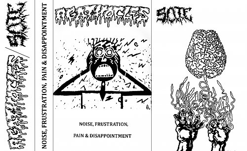 Agathocles / SxOxTxE - Noise, Frustration, Pain & Disappointment (2013/2015/2016 PostHuman, Hungary)