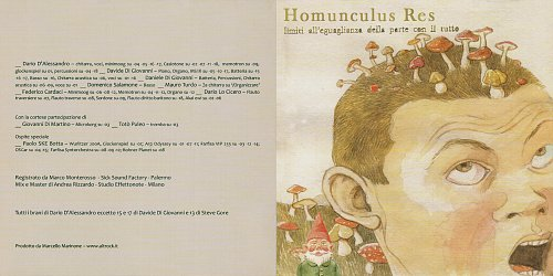 Homunculus Res - Limiti All'Eguaglianza Della Parte Con Il Tutto (2013)